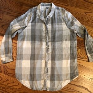 Aerie gray/taupe flannel XXL